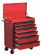 Hilka Heavy Duty 8 Drawer Trolley with Lid Storage